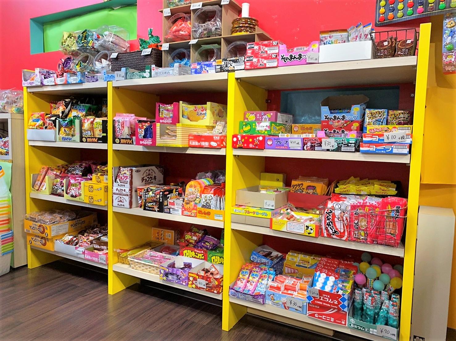 駄菓子・学童コーナー